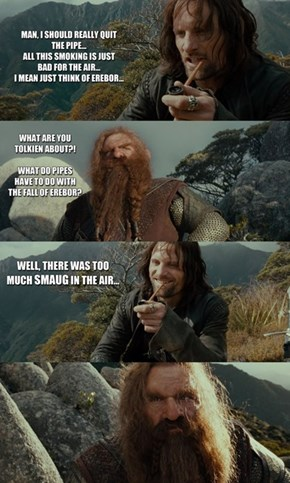 Middle Earth Puns