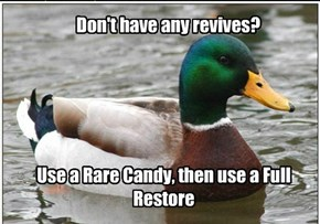 Presuming you have a Rare Candy...