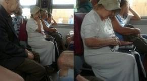 Grandma Didn't Like the Idea of a Cell Phone...