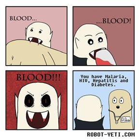 Why Vampires Never Live Long