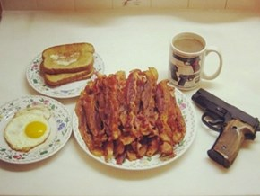 A Real 'Murican Breakfast