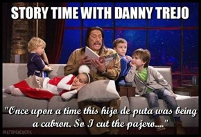 Machete Story Hour
