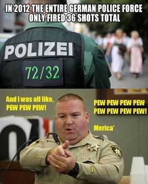 German Police Versus American Police