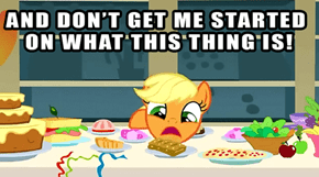 Applejack, The Food Critique