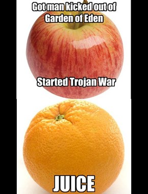 It's Like Apples and Orange