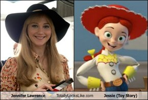 Jennifer Lawrence Totally Looks Like Jessie (Toy Story)