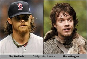 Clay Buchholz Totally Looks Like Theon Greyjoy
