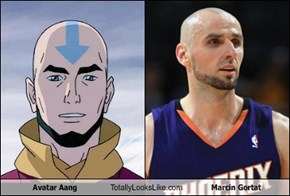 Avatar Aang Totally Looks Like Marcin Gortat