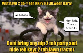 Wut nawt 2 do @ teh KKPS HaLOLween party.