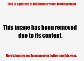 Happy Birthday NCcharmer