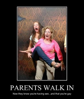 PARENTS WALK IN