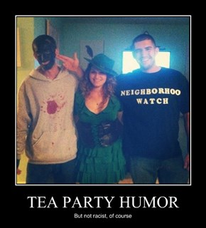 TEA PARTY HUMOR