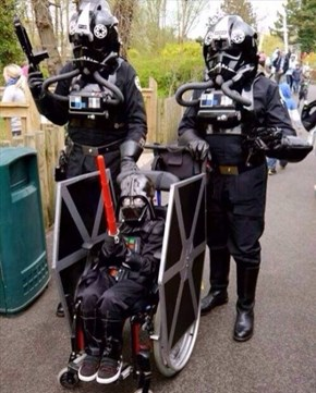 These Parents Are Taking Halloween to the Dark Side
