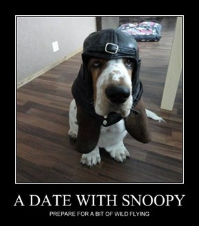 It's Snoopy Come to Life!