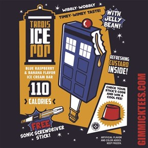 Who Wouldn't Want to Take a Bite of the Tardis?
