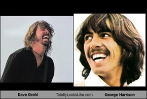 Dave Grohl Totally Looks Like George Harrison