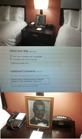 The Hampton Inn Goes Above and Beyond for a Customer