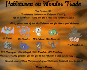 Halloween on Wonder Trade