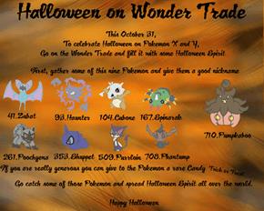 Halloween on Wonder Trade