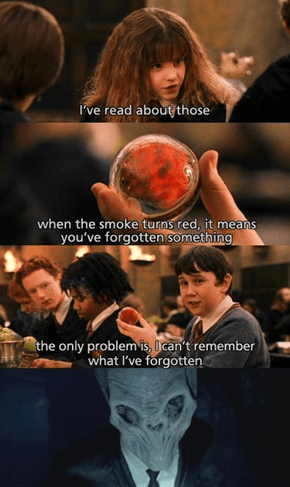 Something Tells Me Neville Wasn't as Forgetful as We Thought