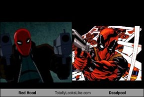 Red Hood Totally Looks Like Deadpool