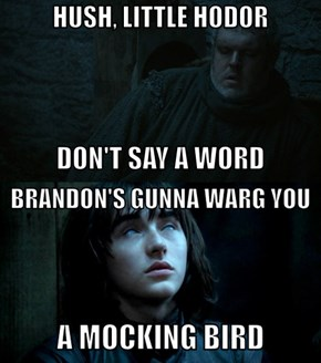 The Hodor Lullaby