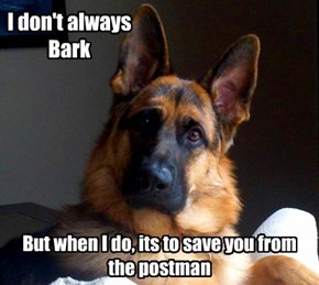 I don't always Bark