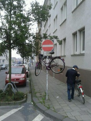 Bicycle Stand FAIL