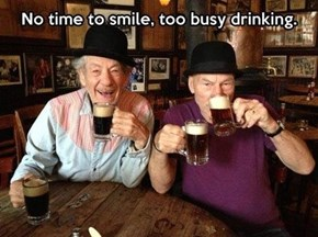 Gandalf & Picard Double f*sting
