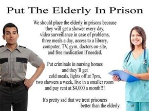 We Should Swap the Elderly for the Criminals