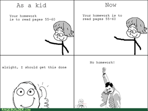 The Evolution of Homework