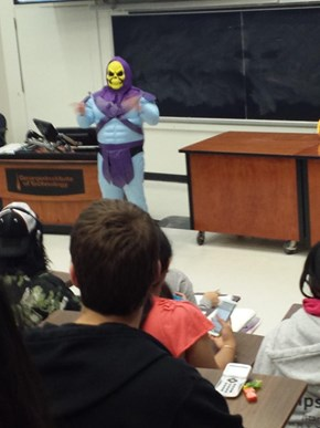 Physics Teachers Have the Best Costumes