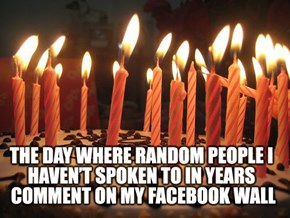 What Your Birthday is Like on Facebook