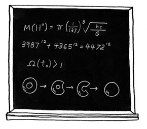 Why Homer's Chalkboard Equations on the Simpsons Are Remarkable