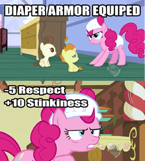 Not All Pony Armor Is Created Equally