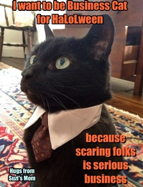 because scaring folks is serious business