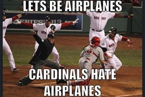 I Heard Going Around the Bases as an Airplane Makes You Go Faster