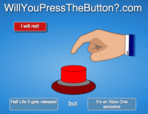 I'm Not Sure if I Can Press the Button