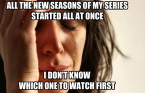 Fall is a Rough Time for TV Watchers