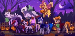 Halloween In Equestria