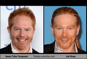 Jesse Tyler Ferguson Totally Looks Like Axl Rose