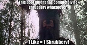 Help the Knights Who Say Ni!