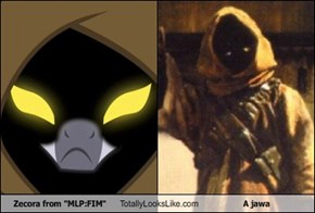 "Zecora From ""MLP:FIM"" Totally Looks Like A Jawa"