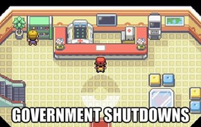 Brock Must Hate the Government Shutdown