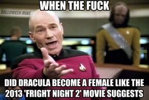 Dracula a Female??