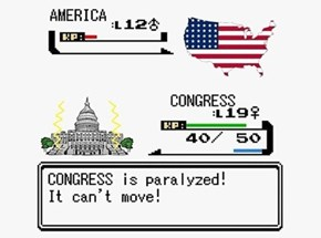 The Government Shutdown Summed Up With a Pokémon Battle