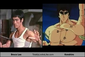 Bruce Lee Totally Looks Like Kenshiro