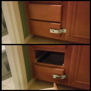 Hey Mom, I See You Put a Lock on This Drawer...