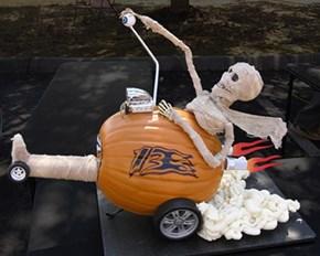 Hotrod Pumpkin