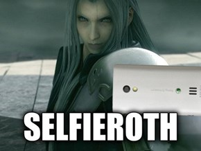 When Final Fantasy Villains Take a Picture of Themself